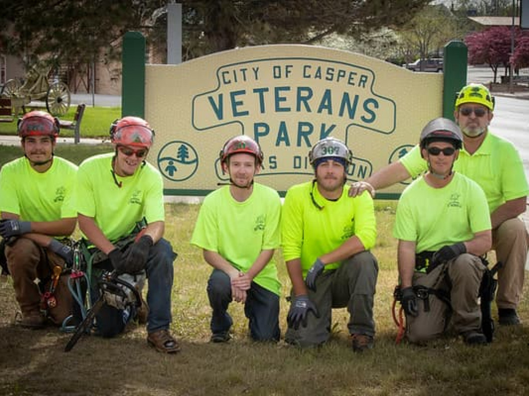 In honor of all those who have served, especially those who gave everything, 307 Tree Service has adopted Veterans Park. We will maintain the health of the trees there for all who wish to visit. To show our respect for those and the families of those who are and have served in order for us to enjoy such freedoms like this park.
